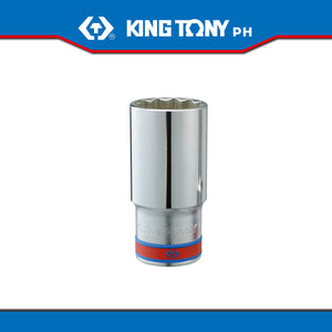 "King Tony #4230S, 1/2"" Drive Deep Socket (english) - United Solid Facility Inc."