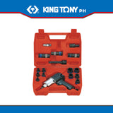 "King Tony #44116MP, 1/2"" Impact Wrench Set (500 ft-lb) - United Solid Facility Inc."