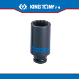 "King Tony #4435M/4430M, 1/2"" Drive Deep Impact Socket (metric) - United Solid Facility Inc."
