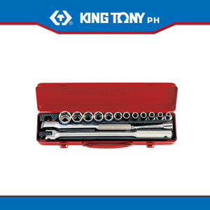 "King Tony #4501MRC50, 1/2"" Drive Socket Set (15pcs.)"