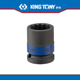 "King Tony #4535M/4530MR, 1/2"" Drive Impact Socket (metric) - United Solid Facility Inc."