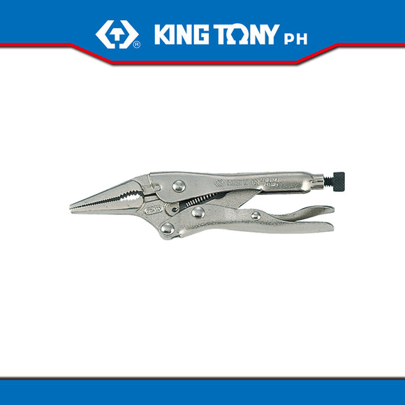 King Tony #6315, Long Nose Locking Grip Pliers (Vise Grip)