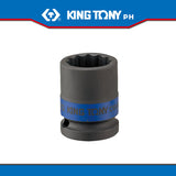 "King Tony #6535M/6530M, 3/4"" Drive Impact Socket (metric) - United Solid Facility Inc."