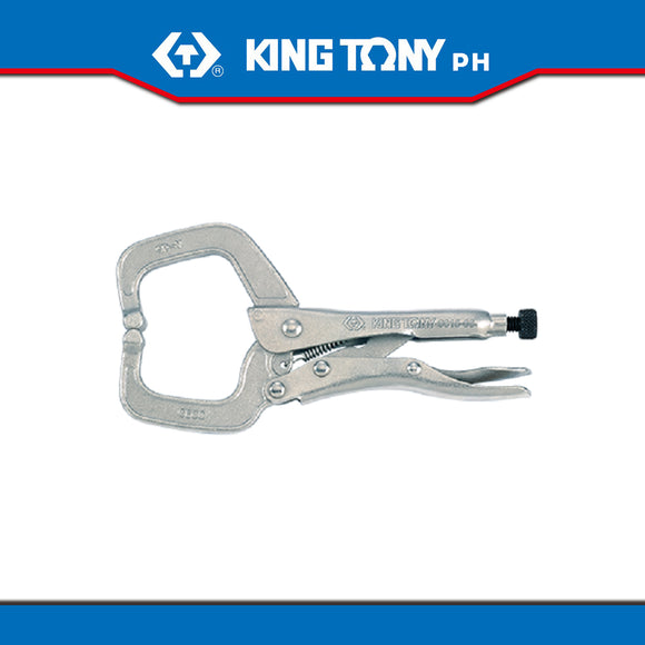 King Tony #6615/6625, C-Clamp Locking Grip Pliers (Vise Grip)