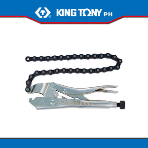 King Tony #6655-09, Lock Chain Grip Pliers (Vise Grip) 9""