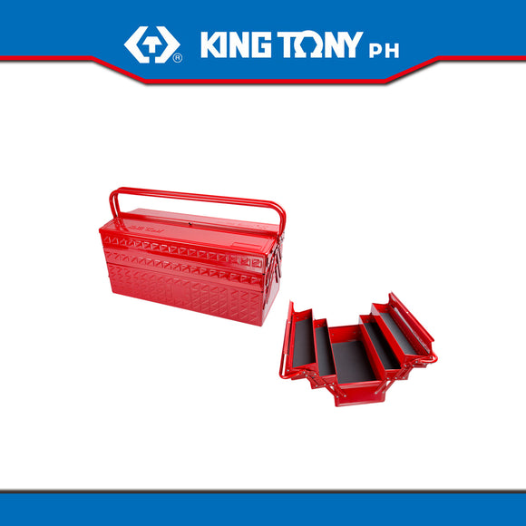 King Tony 3 Section Fold Up Type Metal Tool Box