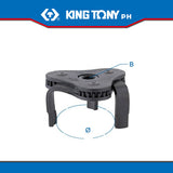 King Tony #9AE42, Three Legged Oil Filter Wrench - United Solid Facility Inc.