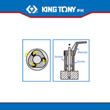 "King Tony #9TD401, 1/2"" Drive Roller Stud Extractor Socket - United Solid Facility Inc."
