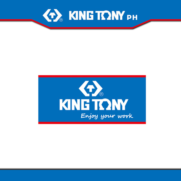 King Tony #ADSTK, Logo Sticker (USFI Rewards™)