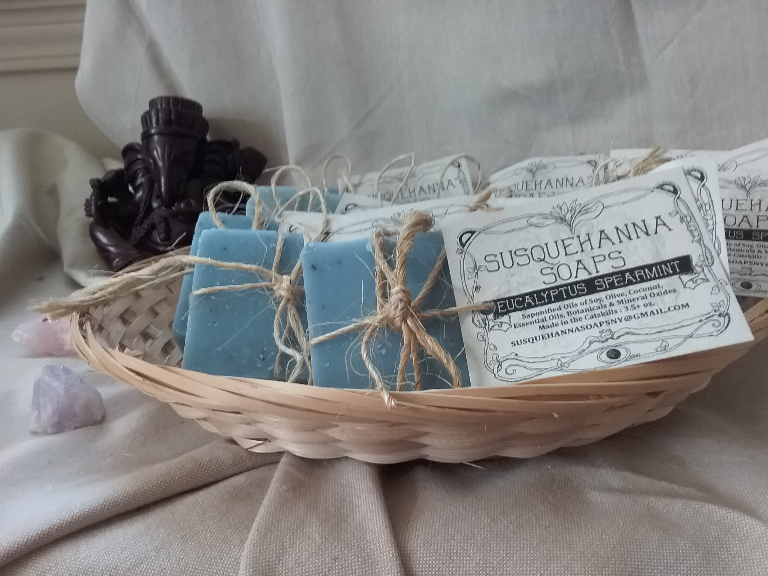 Eucalyptus Spearmint All Natural Soap