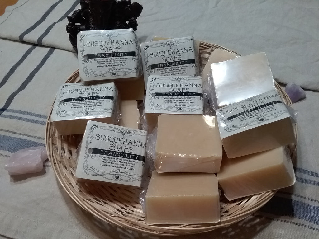 Tranquility all natural handmade Soap