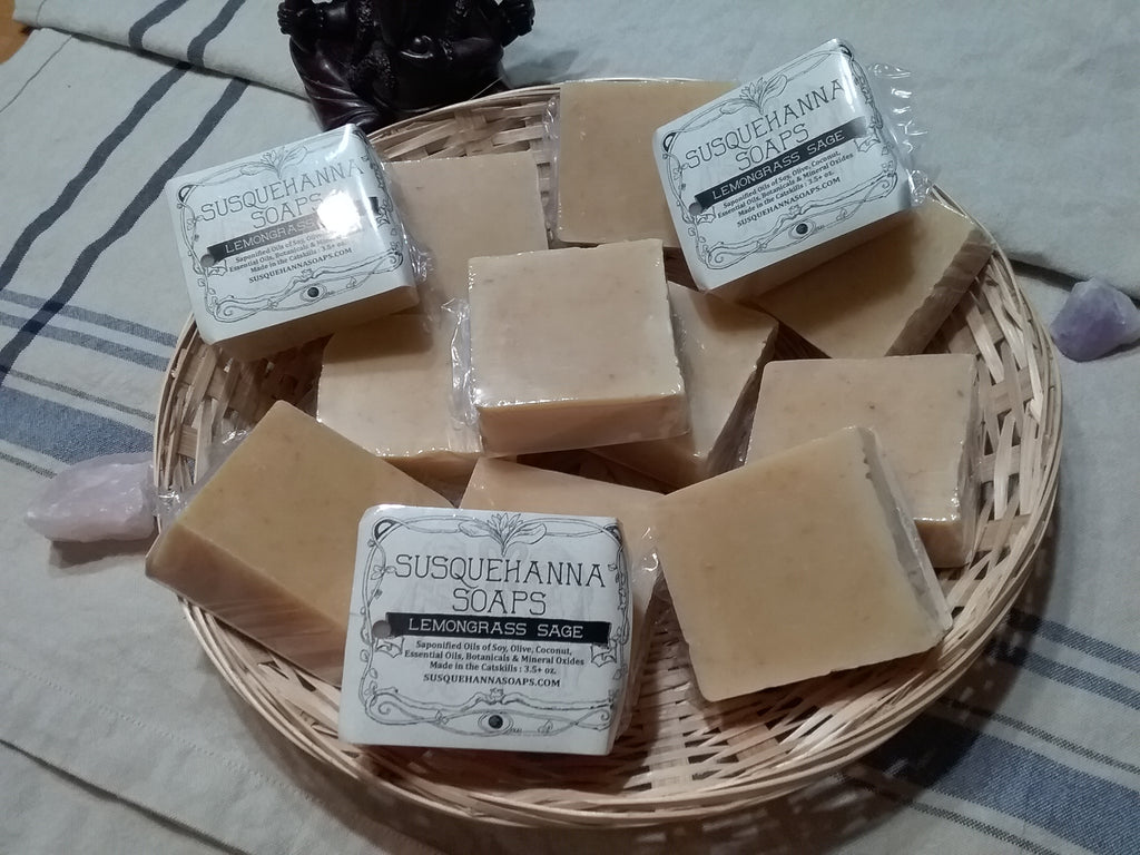 Lemongrass Sage All Natural Soap