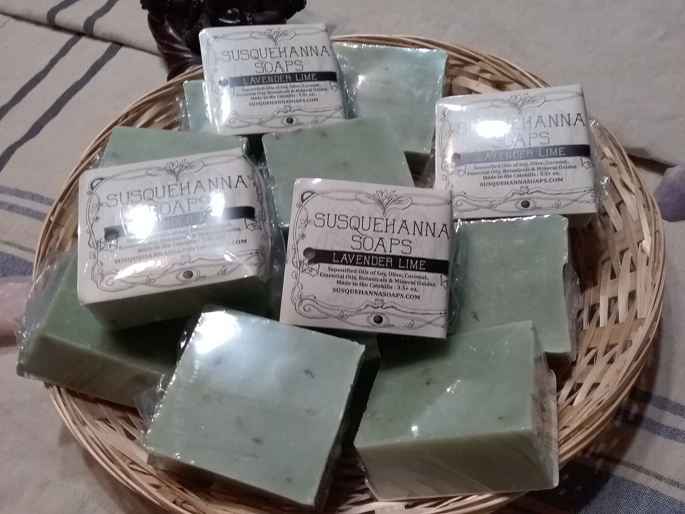 Lavender Lime all Natural Soap