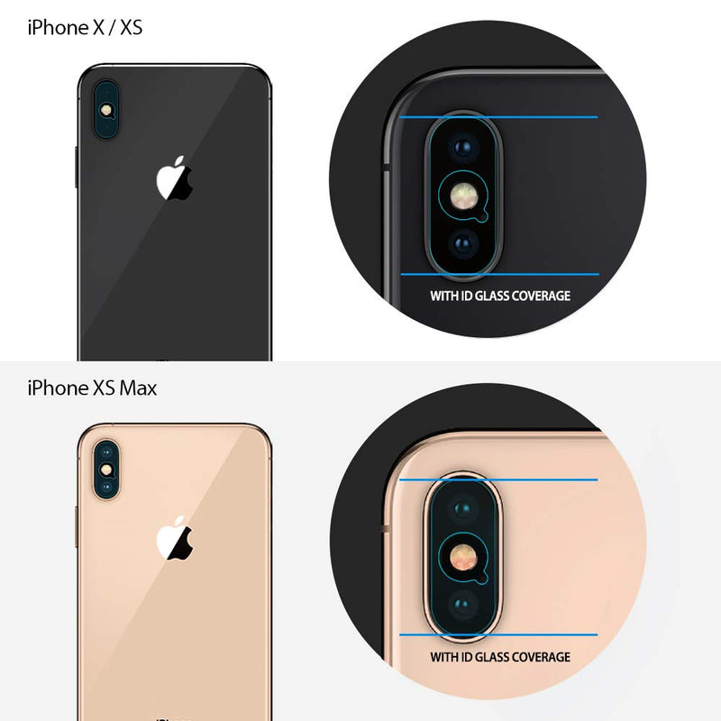 Ringke  iPhone X/iPhone XS/iPhone XS Max- Tempered Glass Camera Lens Protector