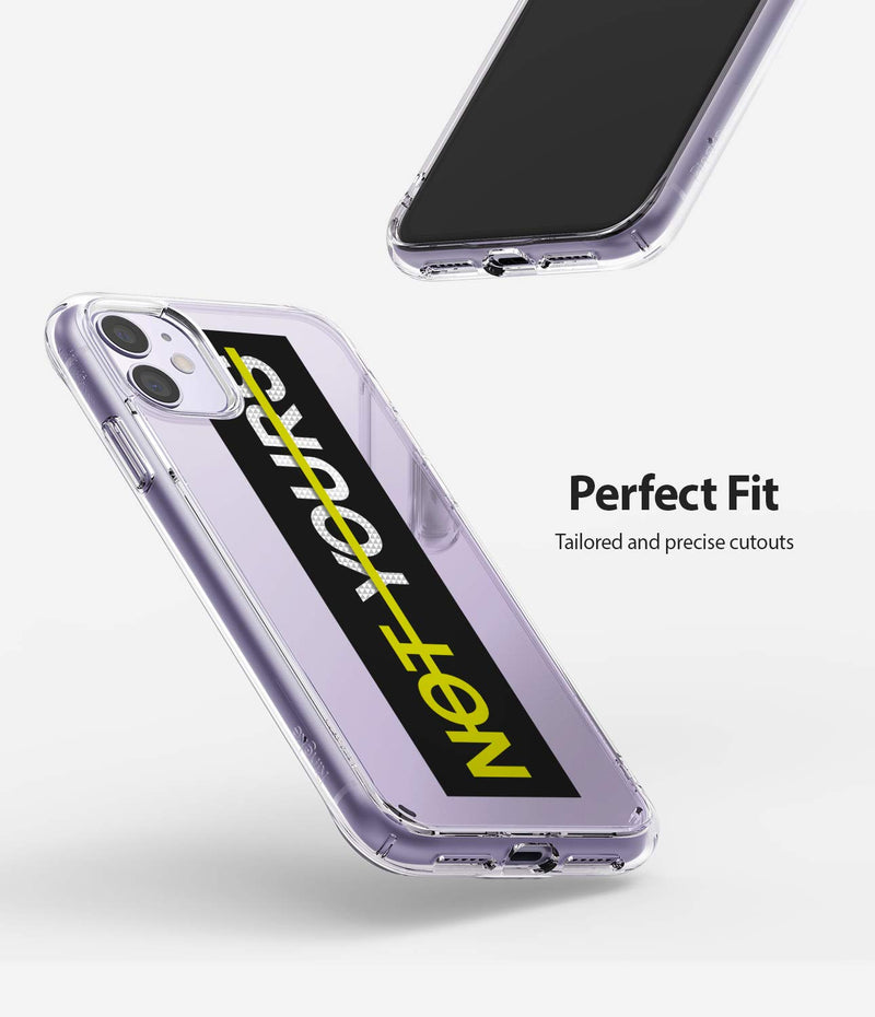 Ringke Fusion Design Case for iPhone 11 Back Cover Case