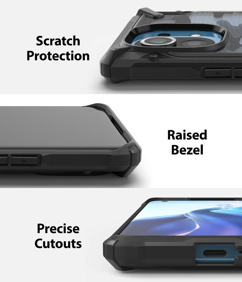 Ringke Fusion-X Back Cover Case for Xiaomi Mi 11