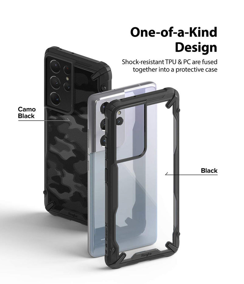 Ringke Fusion-X Back Cover Case for Samsung Galaxy S21 Ultra