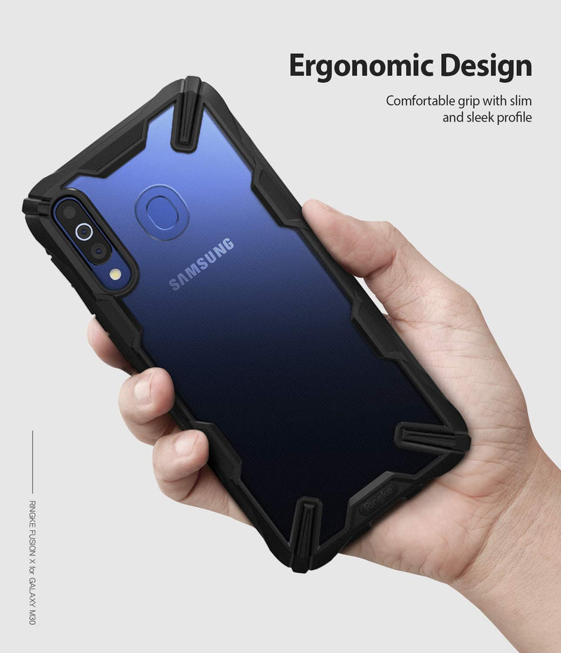 Ringke Fusion-X Samsung Galaxy M30 (Not For M30S) Case