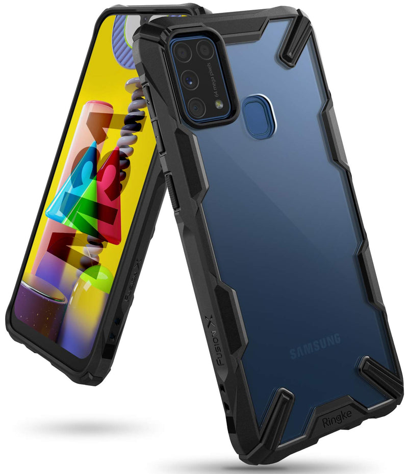 Ringke Fusion-X for Samsung Galaxy M31 Case Back Cover