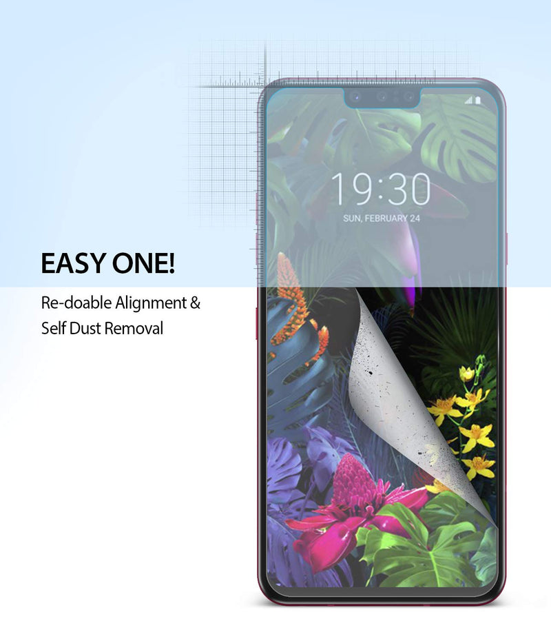 Ringke LG G8 ThinQ (2 Pack)  Screen Protector