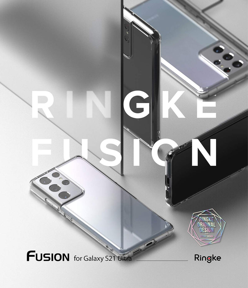 Ringke Fusion Back Cover Case for Samsung Galaxy S21 Ultra
