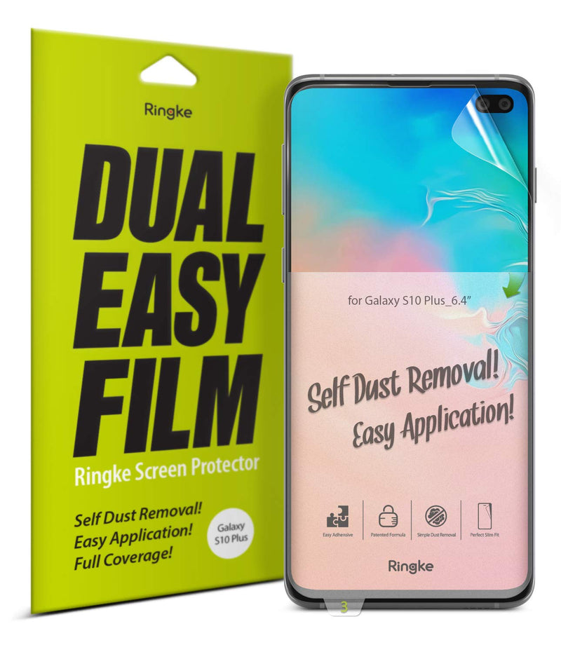 Ringke Samsung Galaxy S10 Plus (2 Pack)  Screen Protector