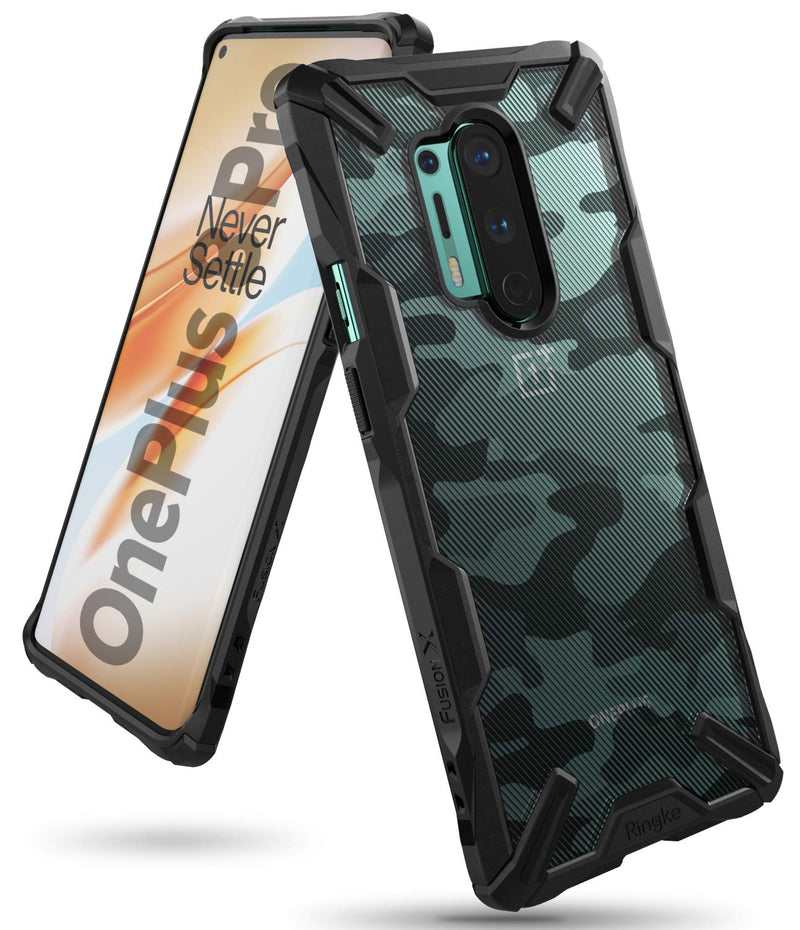 Ringke Fusion-X for OnePlus 8 Pro Case Back Cover