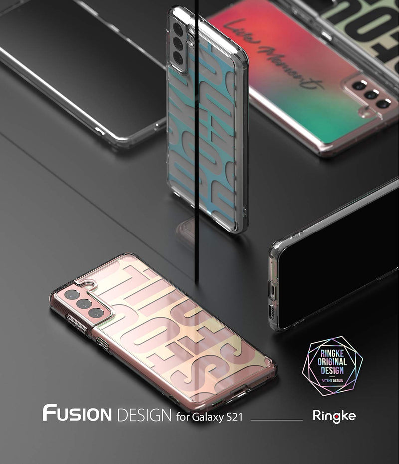 Ringke Fusion Design Back Cover Case for Samsung Galaxy S21