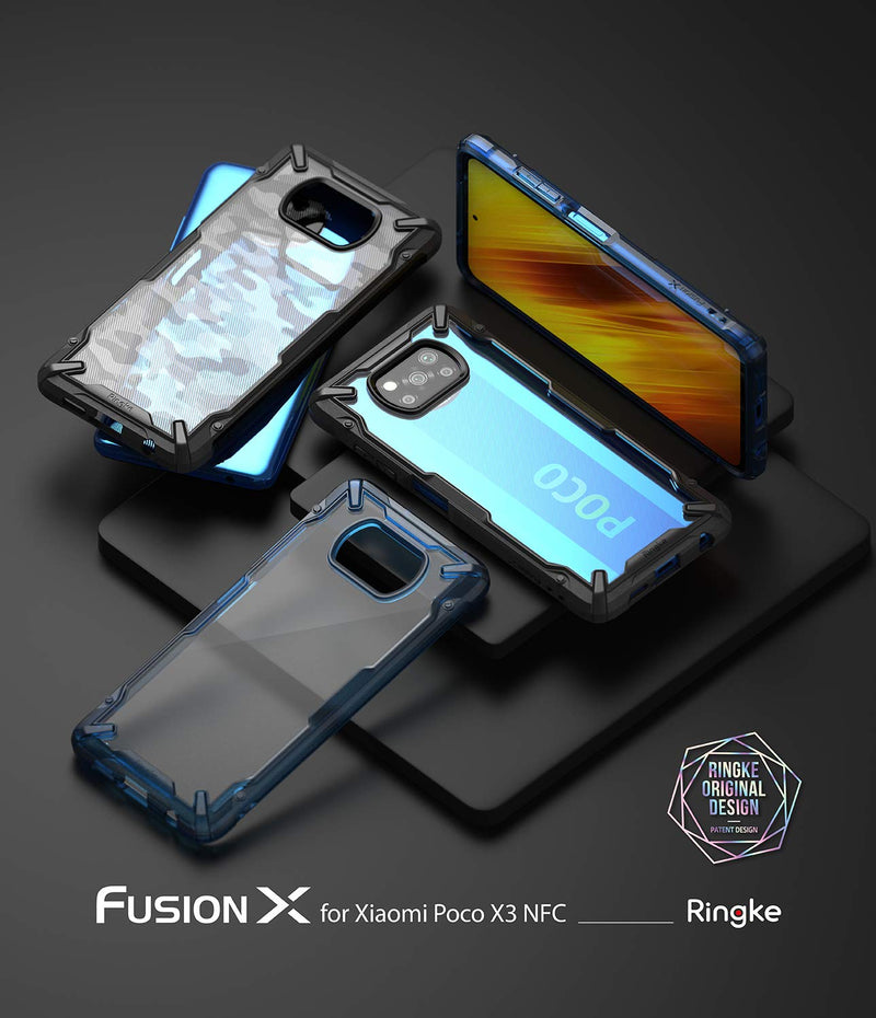 Ringke Fusion-X for Poco X3 ( Indian Version )