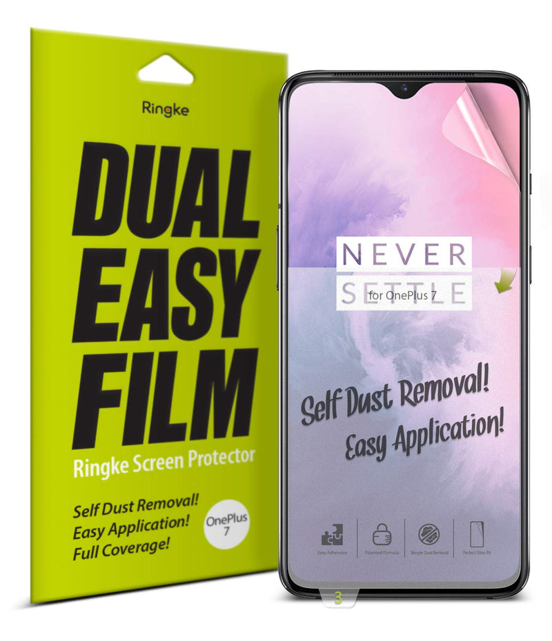 Ringke OnePlus 7/OnePlus 6T (2 Pack) Screen Protector