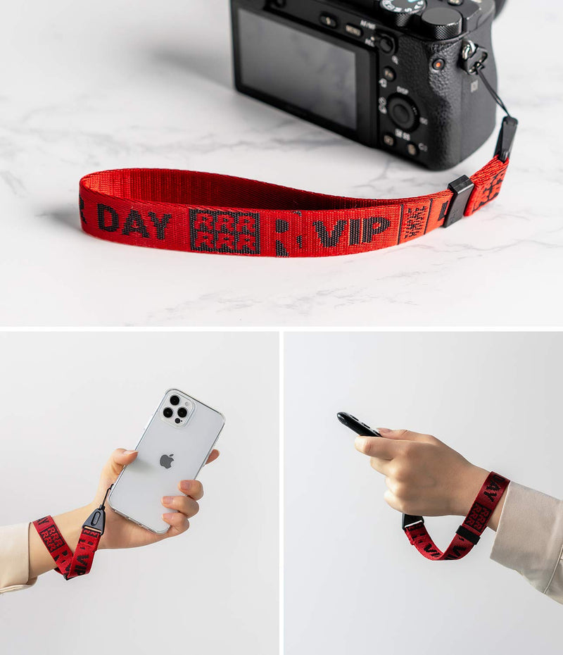 Ringke Hand Strap Designed for Cell Phone Cases, Keys, Cameras & ID QuikCatch Lanyard Adjustable String