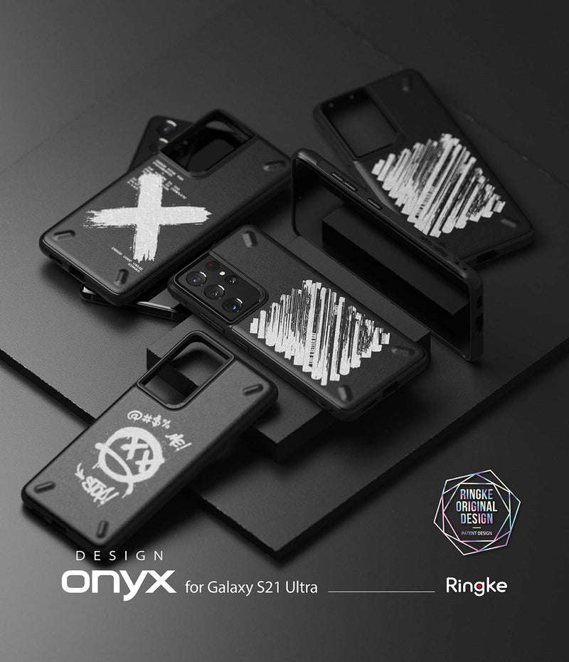 Ringke Onyx Design Back Cover Case for Samsung Galaxy S21 Ultra