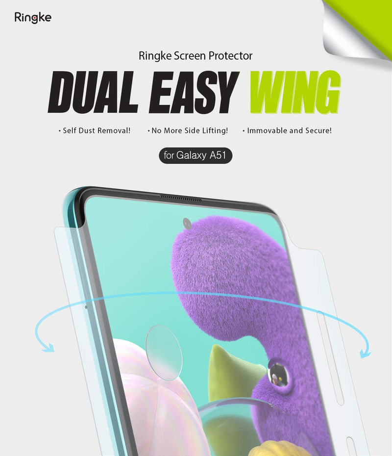 Ringke Samsung Galaxy A51 (2 Pack)  Screen Protector