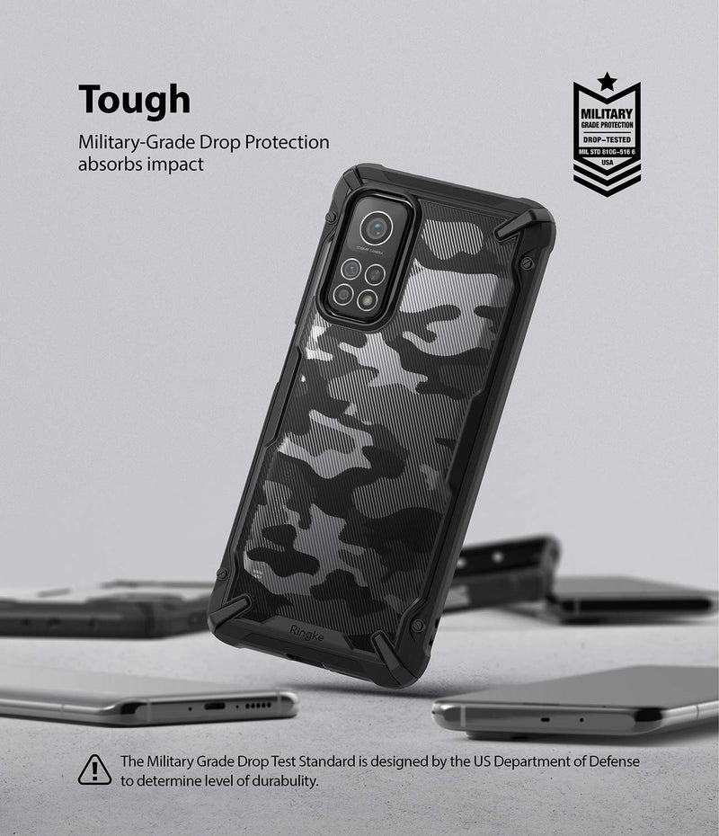 Ringke Fusion-X Back Cover Case for Xiaomi Mi 10T 5G / Mi 10T Pro 5G
