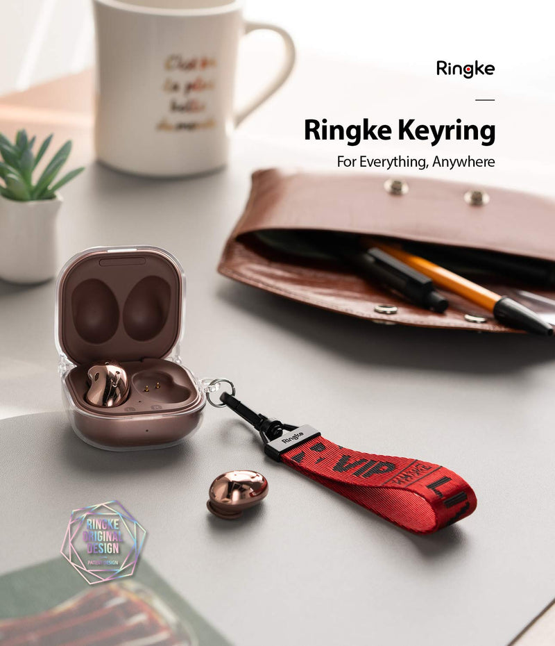 Ringke Key Ring Strap Compatible with Earbuds, Keys, Cameras & ID QuikCatch Lanyard Adjustable String
