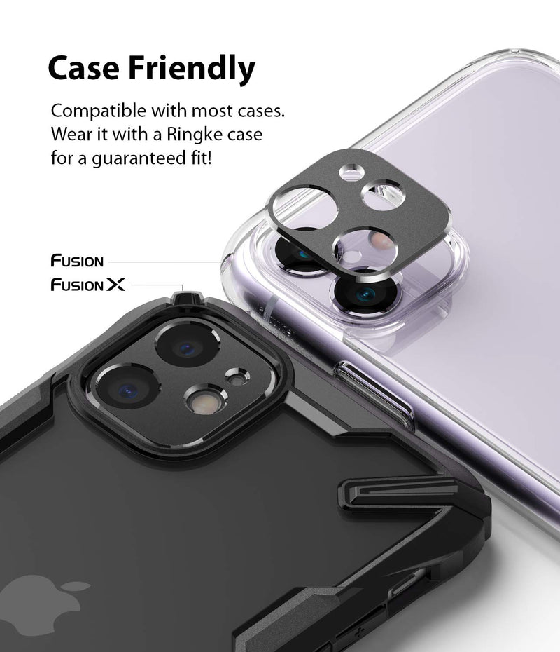 Ringke Camera Styling Aluminum Frame Camera Lens Protector Ring Designed for iPhone 11 (2019)