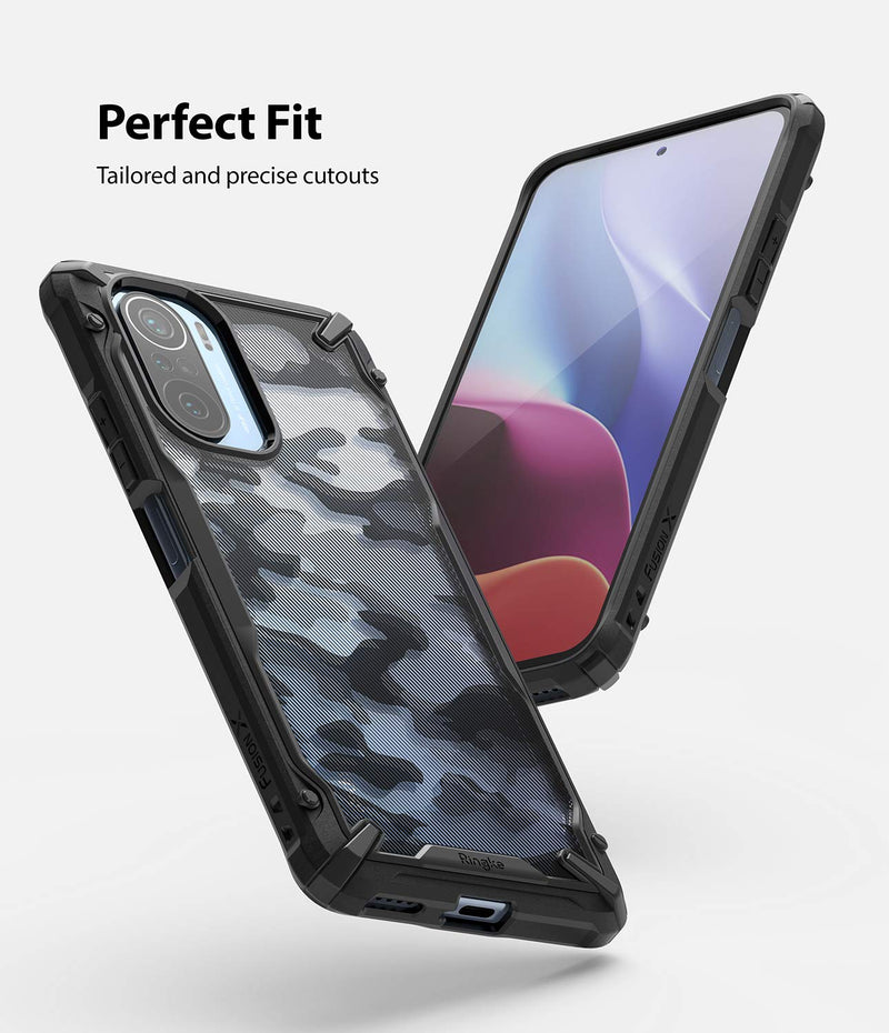 Ringke Fusion-X for Xiaomi Poco F3 / Redmi K40 / K40 Pro / K40 Pro Plus Back Cover Case