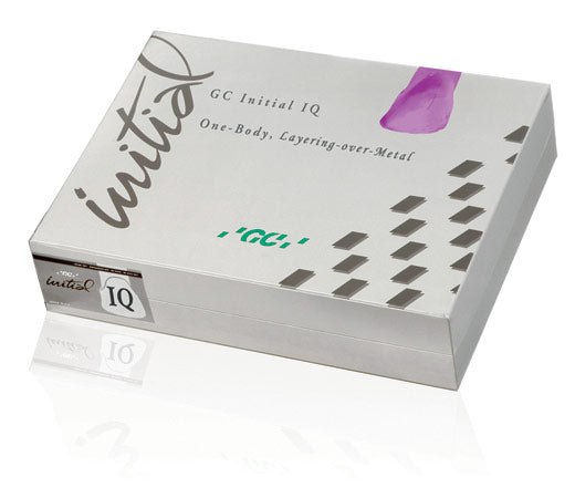 GC Initial IQ, One Body, Layering-Over Metal, Powder - Mega Dental Art Supply