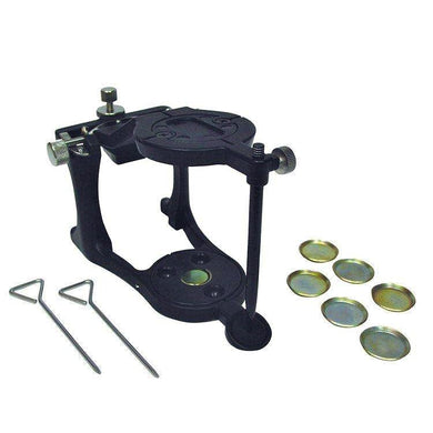 Deluxe Magnetic Articulator w/ Pin - Mega Dental Art Supply