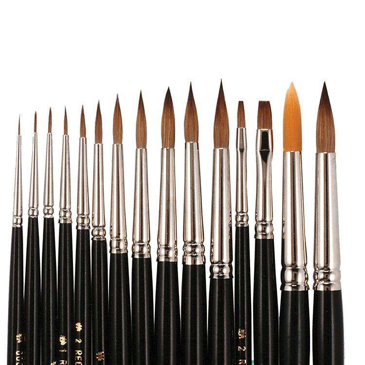 Kolinsky Brushes - Mega Dental Art Supply