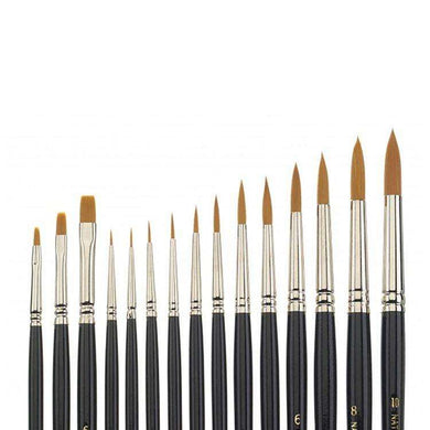 Synthetic Ceramist Brushes - Mega Dental Art Supply