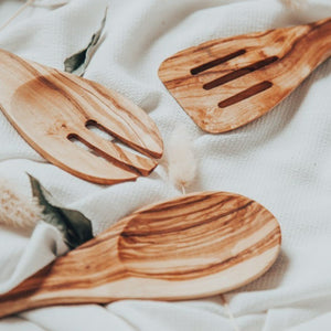 Set of 3 Wooden Utensils