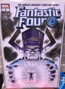 C2E2 Saturday Raffle Book - Fantastic Four - Blank Cover Sketched by William Russell