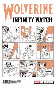 WOLVERINE INFINITY WATCH #2 (OF 5) FUJI CAT VAR