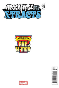AGE OF X-MAN APOCALYPSE AND X-TRACTS #1 (OF 5) SECRET VAR