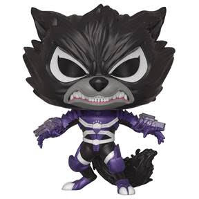 POP MARVEL VENOMIZED ROCKET RACCOON VINYL FIGURE