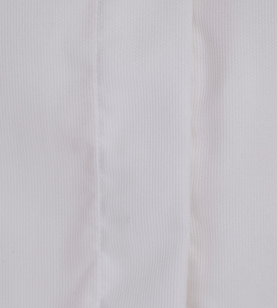 The Gatsby White Casual Shirt Detail