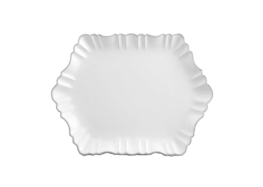 Cloud Appetizer Plate Medium-White