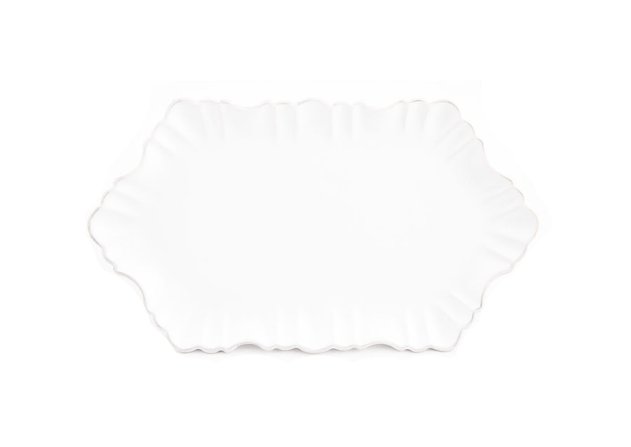 Cloud Appetizer Plate Small-White