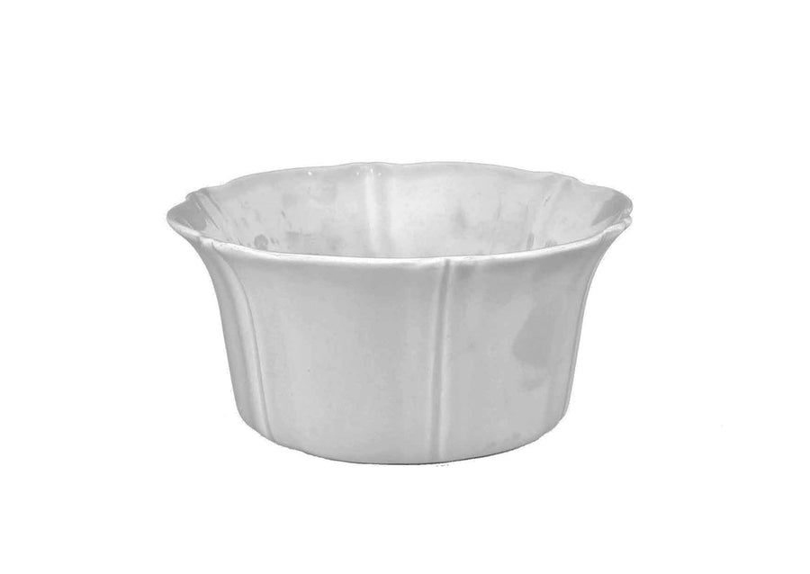 Lotus Salad Bowl-White